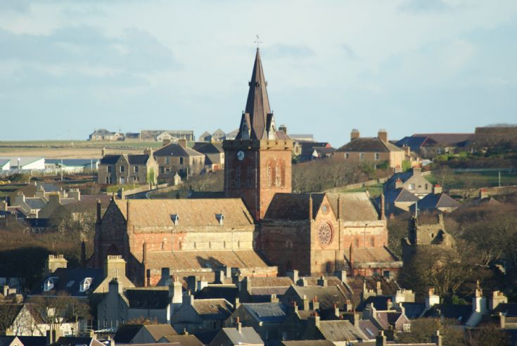 VIEW OF St MAGNUS CATHEDRAL 2008