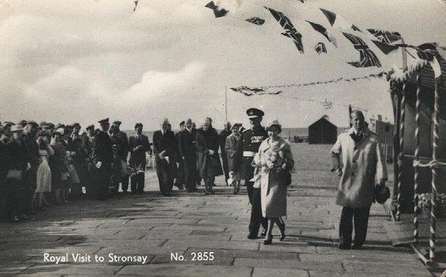 Royal visit to Stronsay