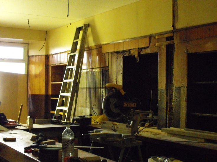 The Ola renovations 2