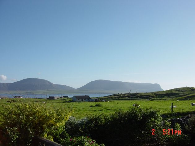 June 2004, looking towards Hoy from Stromness