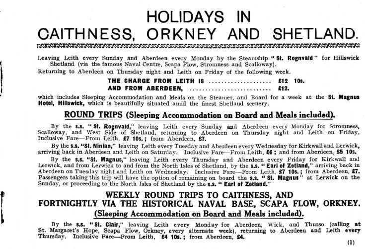 Cruising to Orkney & Shetland Part 2