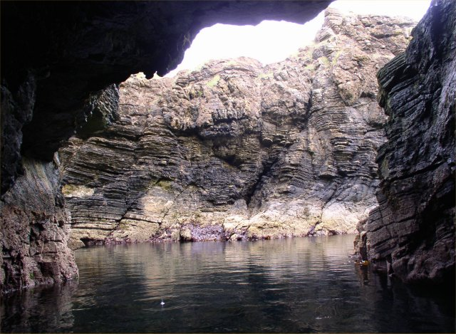 Cave at Brough of Deerness