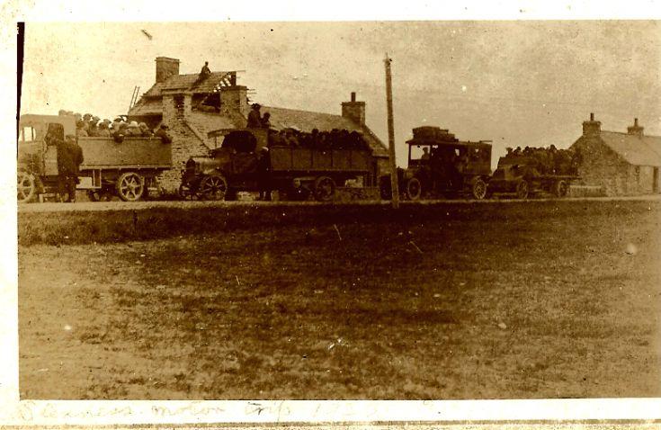 Stenness motor trip 1920