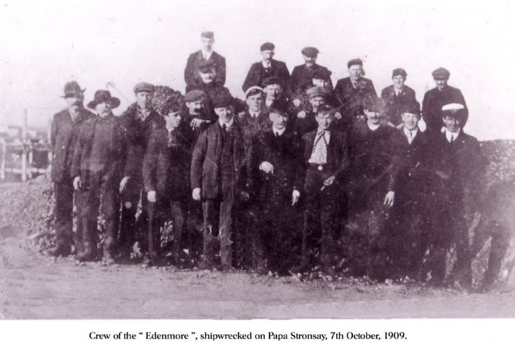 Crew of the Edenmore.