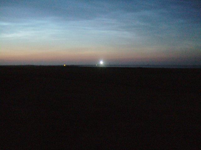 North Ronaldsay lighthouse, 1am