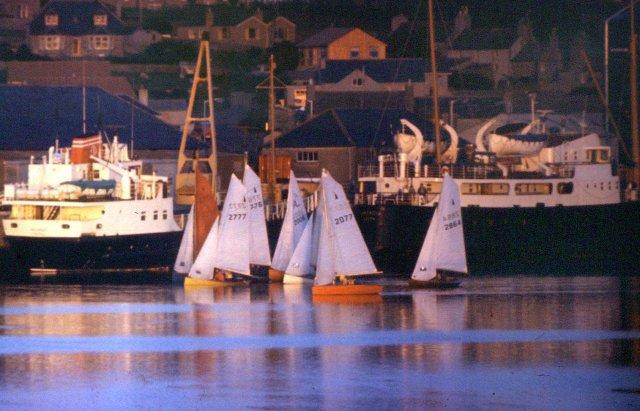 Sailing in Kirkwall Bay