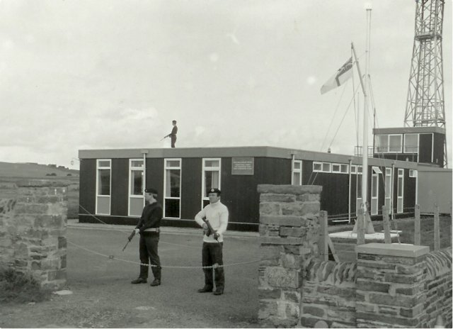 Port HQ Orkney during NATO exercise