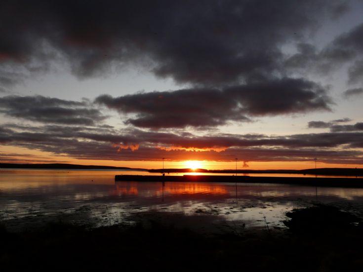 Sunset 2nd January 2009