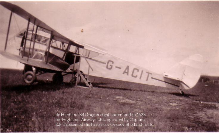 Fresson's Plane