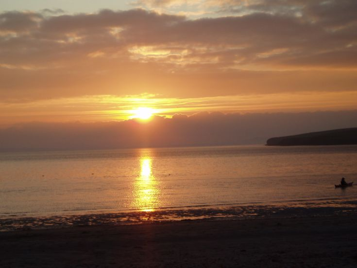 2008 Hogmanay Sunset at Scapa
