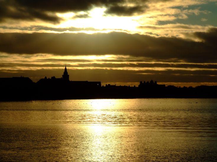 Kirkwall Bay sunset