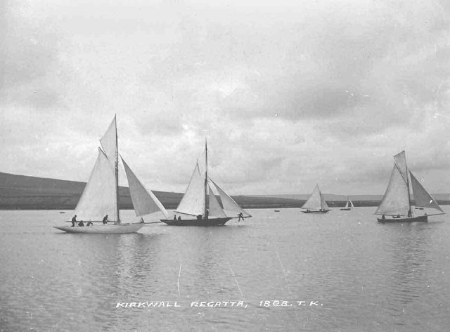 Kirkwall Regatta of 1898