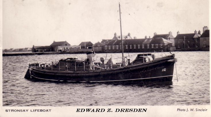 Stronsay Lifeboat, Edward  Z. Dresden