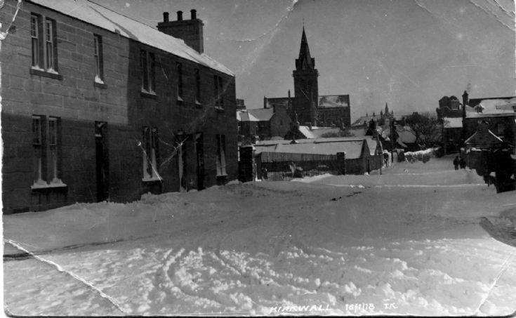 A Snowy Kirkwall