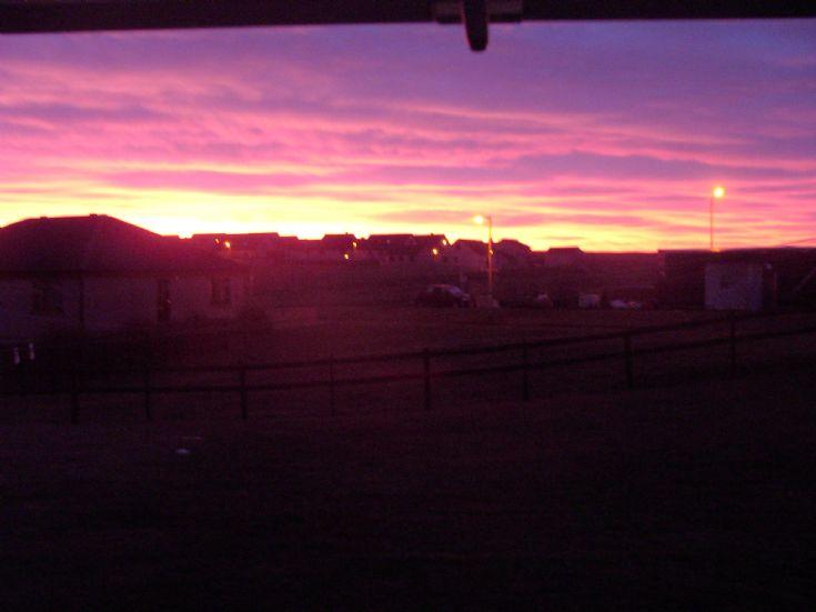Sunrise Hamnavoe Stromness