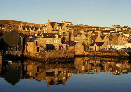 Stromness reflections