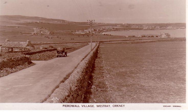 Pierowall Village, Westray.