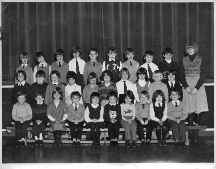 Papdale Primary P2 - 1976