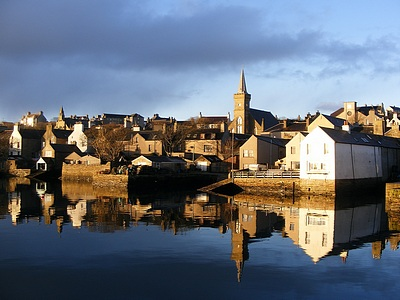 Reflections on Stromness