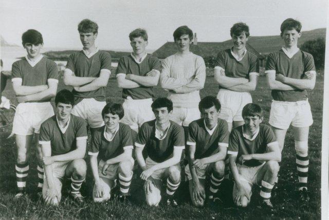 Orkney Junior football team, 1968