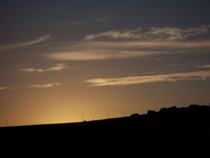 Evening Sky in Rousay