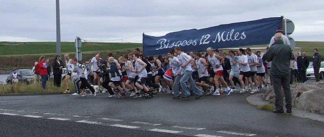 Start of Bisgeos 12 miles, 2006