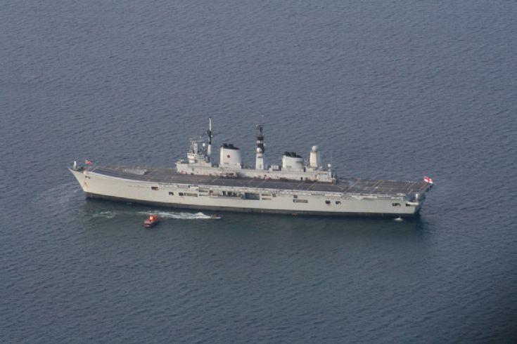 Ark Royal in Scapa Flow