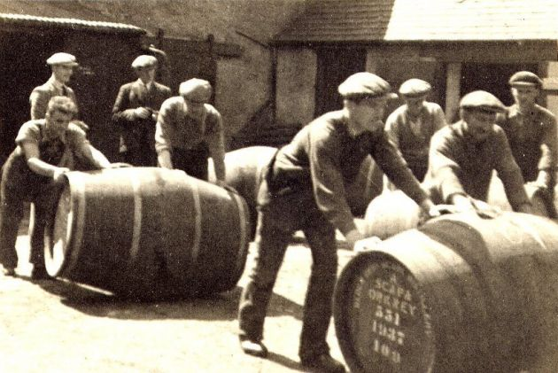 Reopening of Scapa Distillery after WW2