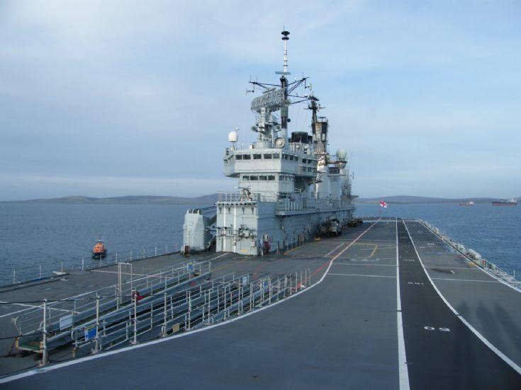 Flight deck of HMS Ark Royal