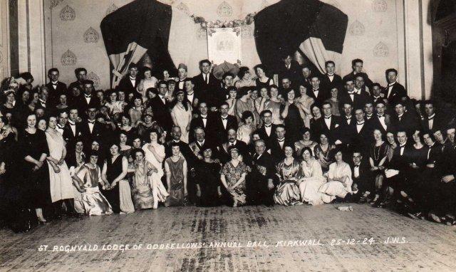 Kirkwall Oddfellows' Annual Ball