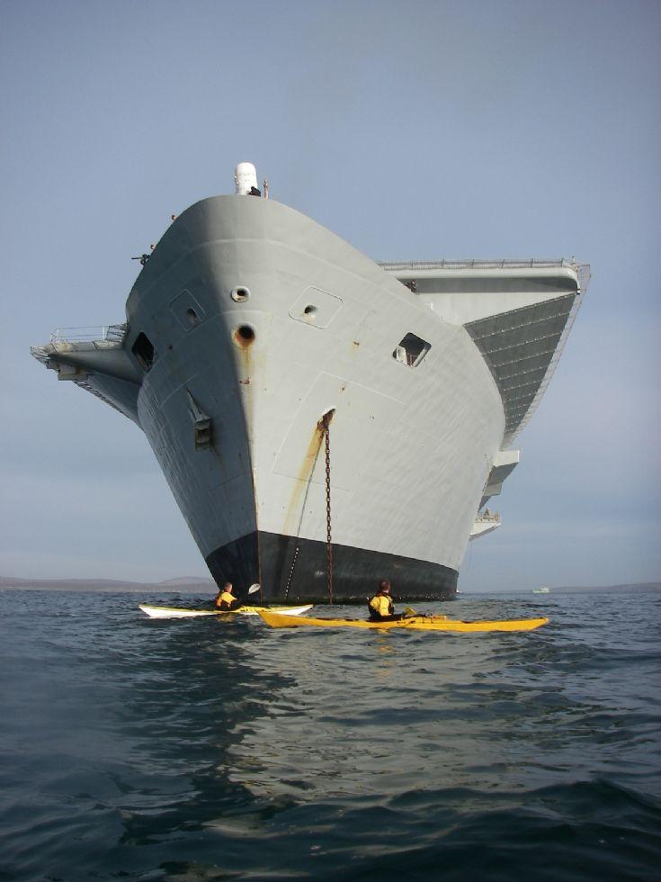 OSKA members visit Ark Royal