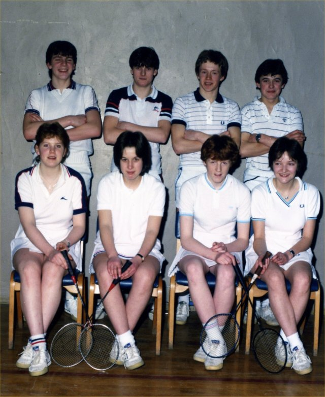 Orkney under 18 Junior Inter County badminton team