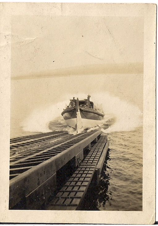Longhope lifeboat launch