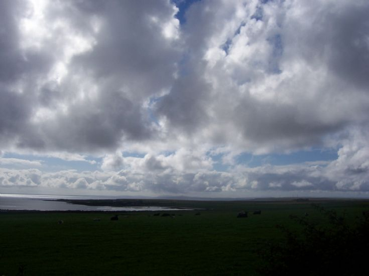 Looking from Cleat towards Houseby, Stronsay