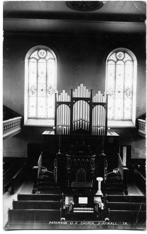 Interior Paterson UF Church (Tom Kent)