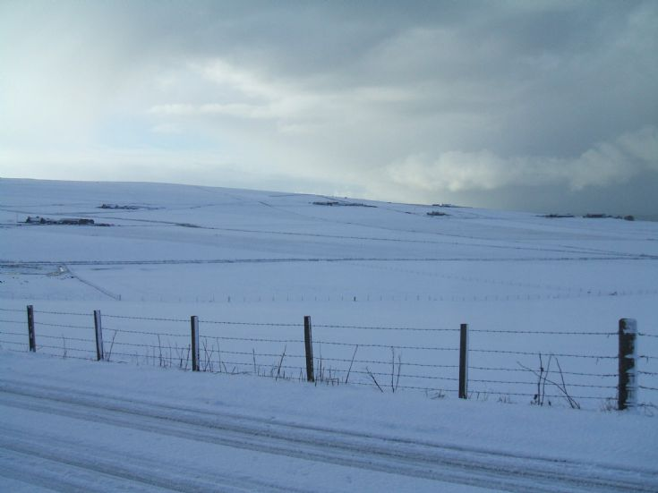 Marwick in the snow