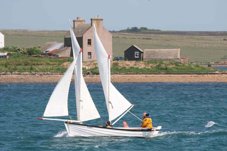 EMMA at the Longhope regatta