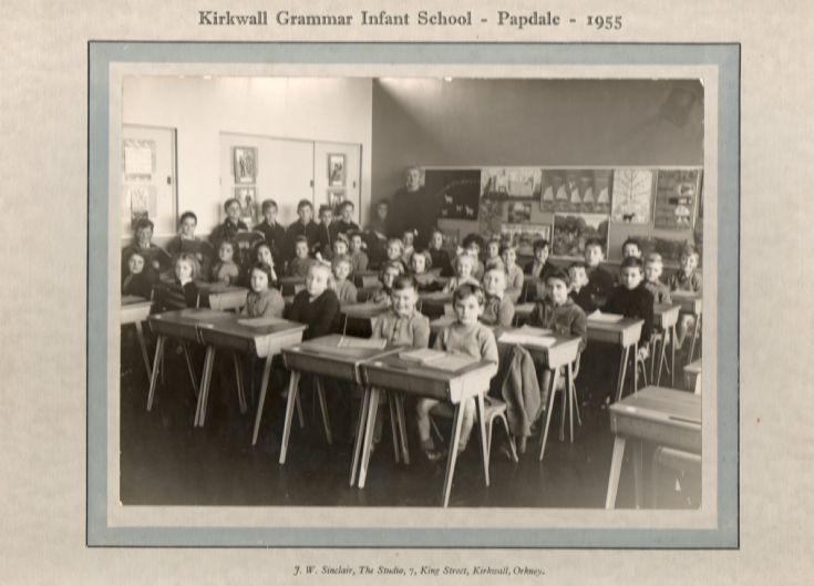 KGS Infants (Papdale) Class 2A 1955