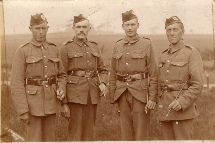 Orkney men of the 4th Seaforth Highlanders