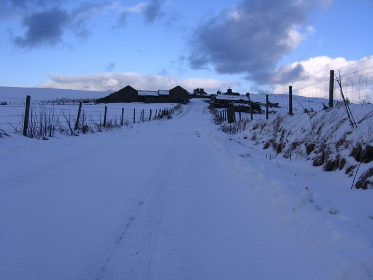Netherhouse in the snow