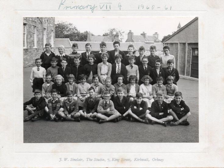 Primary VIIA  1960-61