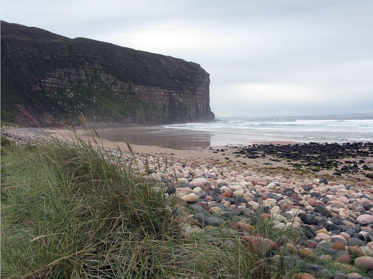 Rackwick Bay - escape from Stromness rat race!