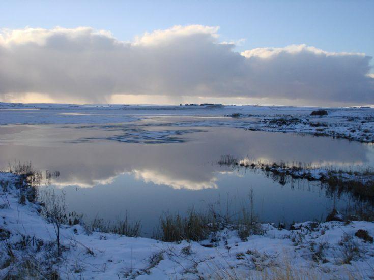 Reflection on Harray Loch