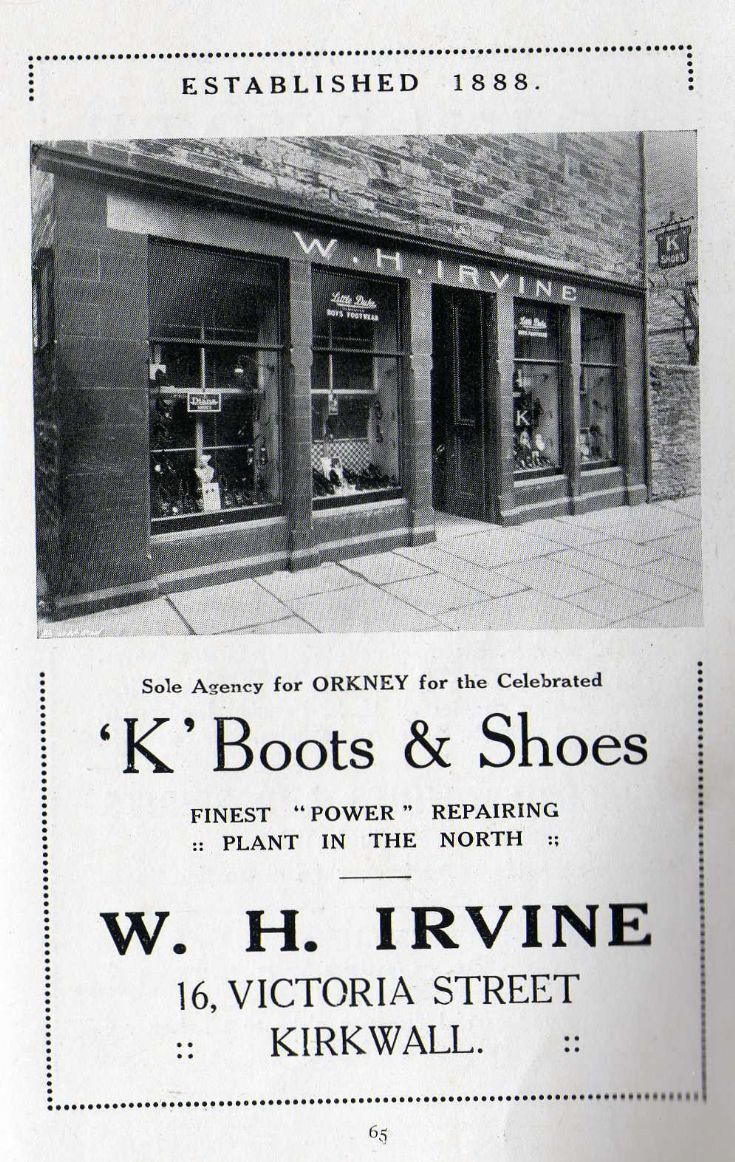 Irvine's Boot Shop