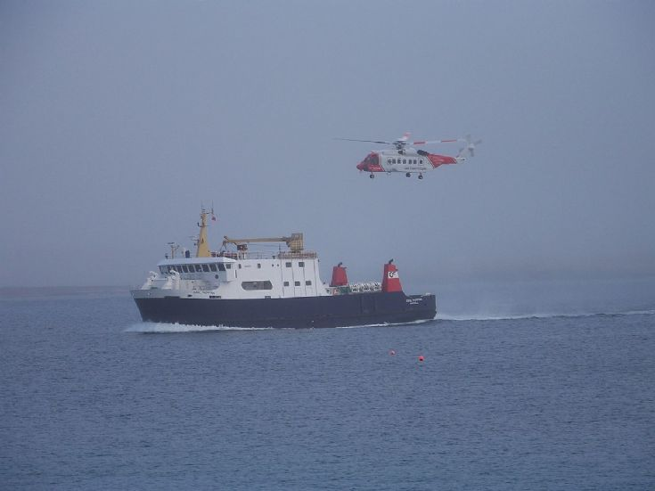 Coastguard training exercise