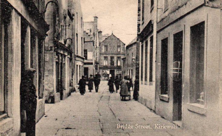 Bridge Street in the 1920s