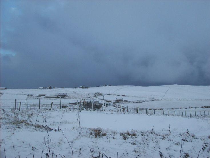Sandwick in the snow