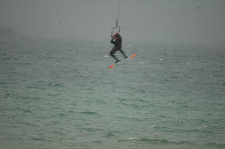 Kiting at Scapa