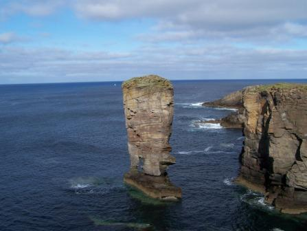 Stack at Yesnaby