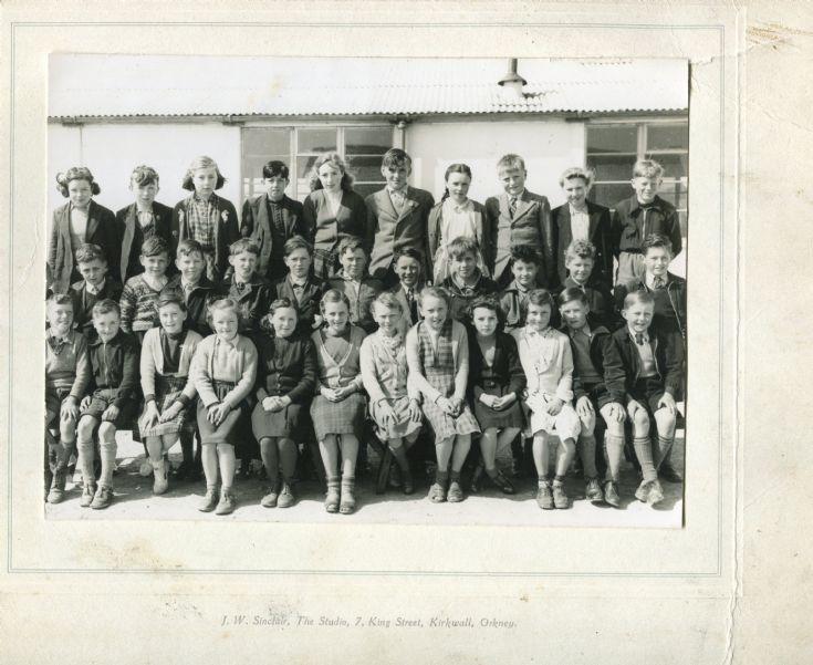Sanday Junior Secondary School 1953